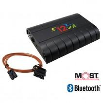 MOST Интерфейс за фабрично вграждане - Телефон, Bluetooth, USB, SD, A2DP