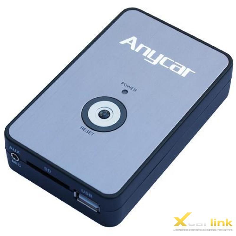 AnyCarLink автомобилен интерфейс за интеграция на USB, SD, AUX, Bluеtooth към автомобил Peugeot