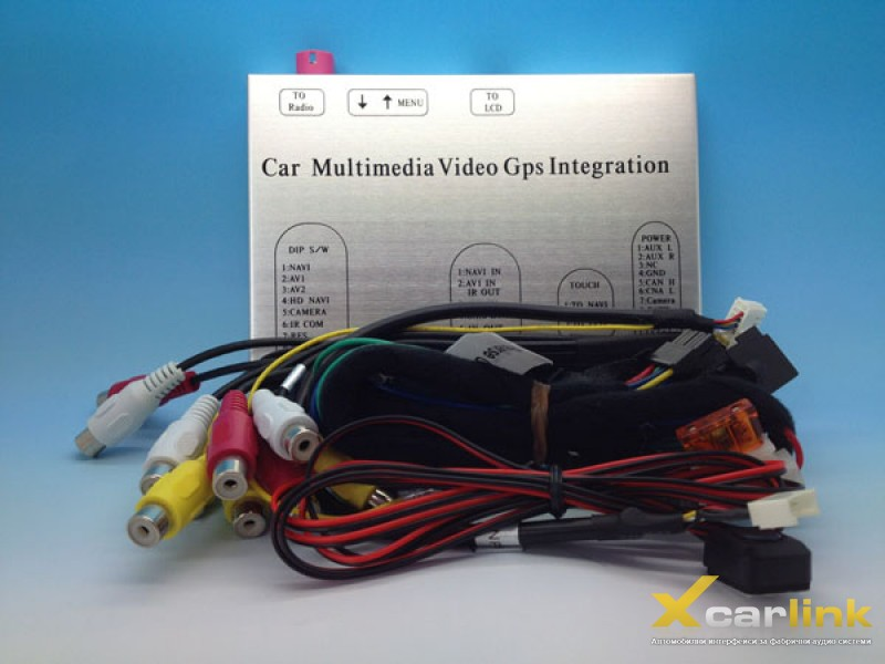 Mercedes Command NTG 4.5 Мултимедия Видео Интерфейс