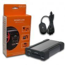 XCarLink автомобилен интерфейс за интеграция на USB, SD, AUX, Bluеtooth за Peugeot